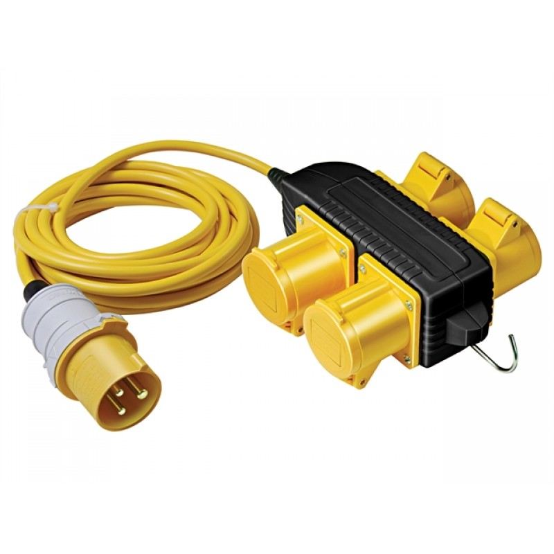 Powerblock Generator: Brennenstuhl Extension Cable With 4-Way Powerblock 14