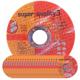 Premium Super Quality 3 Depressed MILD STEEL Cutting Disc 4½