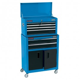 Draper 24 Inch Combined Roller Cabinet And Tool Chest (6 Drawer)