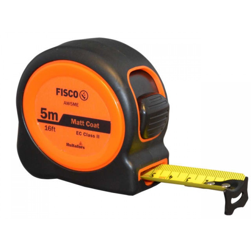Fisco Unimatic II Tape Measure Metric 5m 16mm