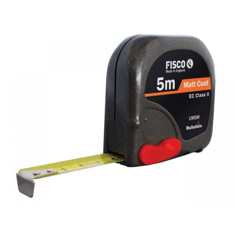 Width 25mm Fisco TV5M Tri-Lok Pocket Tape 5m FSCTV5M Metric only