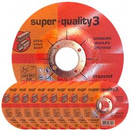 Premium Super Quality 3 Depressed STEEL Grinding Disc 4½