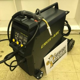 Cros Arc 250A MIG Welder With 4 Metre Parker™ MIG Torch (291C) (60% Duty Cycle)