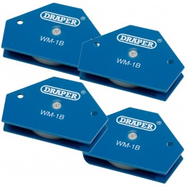 Draper Multi-Purpose Welding Magnetic Holders - PACK OF 4
