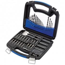 Draper Drill and Accessory Kit (75 Piece)