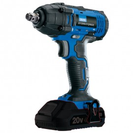 "Draper Storm Force® 20v 1/2"" Sq. Dr. Impact Wrench - BARE UNIT ONLY"