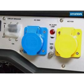 Hyundai HYU3800L 3.2 kW / 4.0 kVA Generator Recoil Start