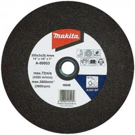 "Makita 14"" (355 x 3mm x 25.4mm) Abrasive Chop Saw Discs (Pack 5)"