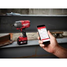 "Milwaukee M18 FUEL™ ONE-KEY™ 1/2"" Impact Wrench 18V 3 x 5.0Ah Li-Ion Batteries"
