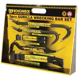 Roughneck Gorilla Wrecking Bar Set (5 Piece)