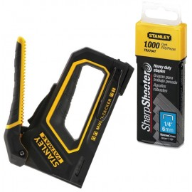 Stanley FatMax Composite 4-In-1 Stapler with FREE Pack of Heavy Duty Staples worth €12