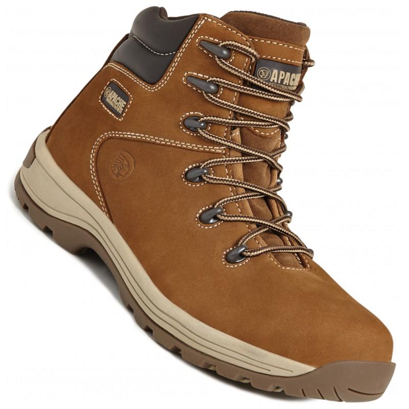 Apache Sundance Full Grain Nubuck Safety Hiker Boot (Various Sizes)