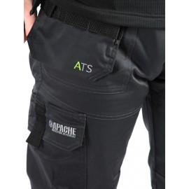 Apache ATS 3D Stretch Cordura Workwear Trouser Grey / Black