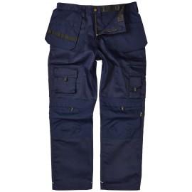 Apache Holster Pocket Workwear Trouser Navy