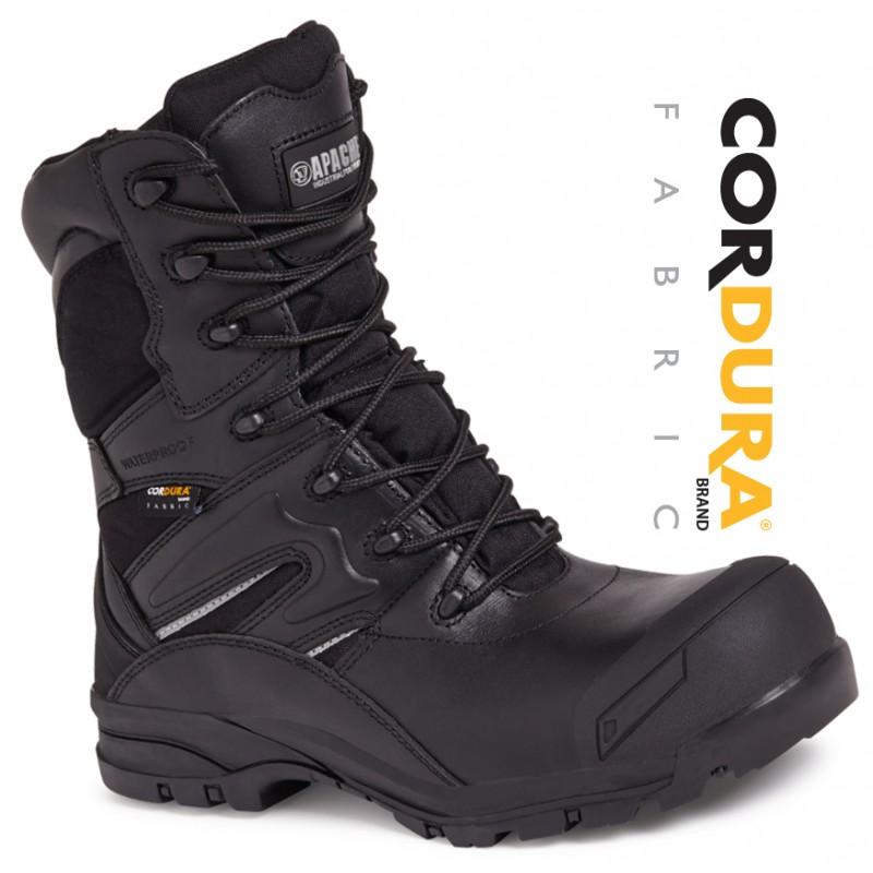 eb9c9151a0c Apache Combat Safety Boot Black
