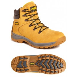 Apache Nubuck Water Resistant Safety Hiker Boot Honey