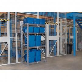 Draper Expert Heavy Duty Steel 4 Shelving Unit - 1040 x 610 x 1830mm