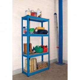 Draper Steel Shelving Unit - Four Shelves (L760 x W300 x H1520mm)