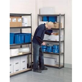 Draper Expert Heavy Duty Steel Shelving Unit - Five Shelves (L920 x W305 x H1830mm)