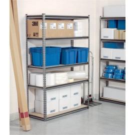 Draper Expert Heavy Duty Steel Shelving Unit - Five Shelves (L1220 x W450 x H1830mm)