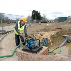 Draper Expert 1000L/Min 7HP Petrol Water Pump (80mm)