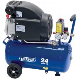 Draper 24L 230V 2.0hp (1.5kW) Air Compressor