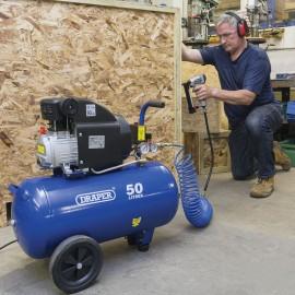 Draper 50L 230v 2.0hp (1.5kw) Air Compressor