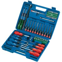 Draper Screwdriver, Socket and Bit Set (70 Piece)