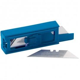 Draper Dispenser of 10 Two Notch Trimming Knife/Window Scraper Blades