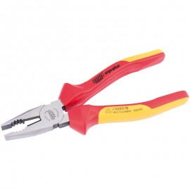 Draper Expert 200mm Ergo Plus® Fully Insulated High Leverage VDE Combination Pliers