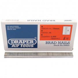 Draper 10mm Brad Nails (5000)