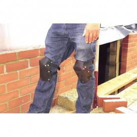 Draper Expert Leather Knee Pads