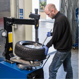 Draper Expert Semi Automatic Tyre Changer