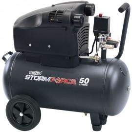 Draper 50L 230V 2.4hp (1.8kW) Air Compressor