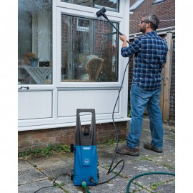 Draper 1700W 230V Pressure Washer with Total Stop Feature