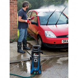 Draper 2200W 230V Pressure Washer with Total Stop Feature