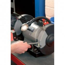 Draper 200mm 550W 230V Heavy Duty Bench Grinder with Worklight