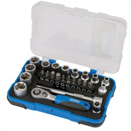"Draper 1/4"" Sq. Dr. Metric Socket Set (25 Piece)"