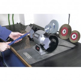 Draper 230V 150mm Heavy Duty Bench Grinder