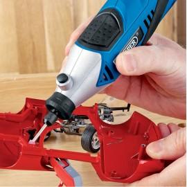 Draper 135W 230V Multi Tool with 56 Piece Accessory Kit