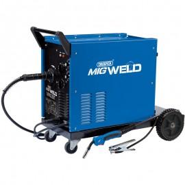 Draper 230/400V Gas/Gasless Turbo MIG Welder (220A)