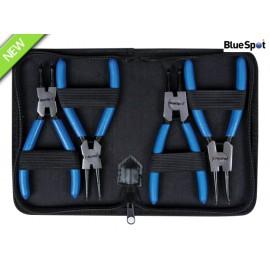 BlueSpot Tools Circlip Pliers Set, 4 Piece