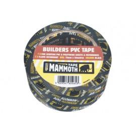Everbuild Builder's PVC Tape Black 75mm x 33m