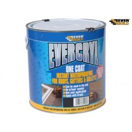 Everbuild Evercryl One Coat Compound, Grey 2.5kg