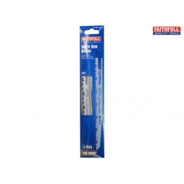 Faithfull Sabre Saw Blade Wood S1531L (Pack of 5)