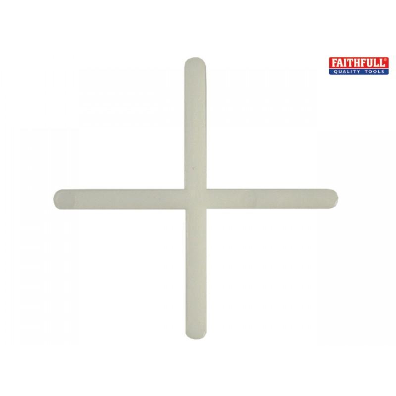 FAITLSP31000 Tile Spacer Long Leg 3mm Tub of 1000 Tiling Tools