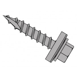 ForgeFix TechFast Metal Roofing to Timber Hex Screw T17 Gash Point 6.3 x 80mm Box 100