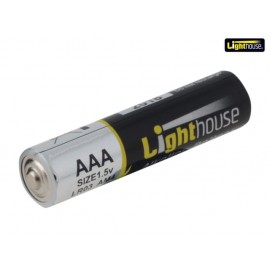 Lighthouse Alkaline Batteries AAA LR03 1120mAh Pack of 4