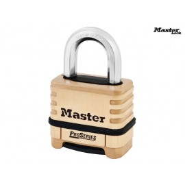 MasterLock ProSeries Brass 4 Digit Padlock 57mm