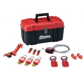 MasterLock Lockout Toolbox Electrical Kit 12-Piece